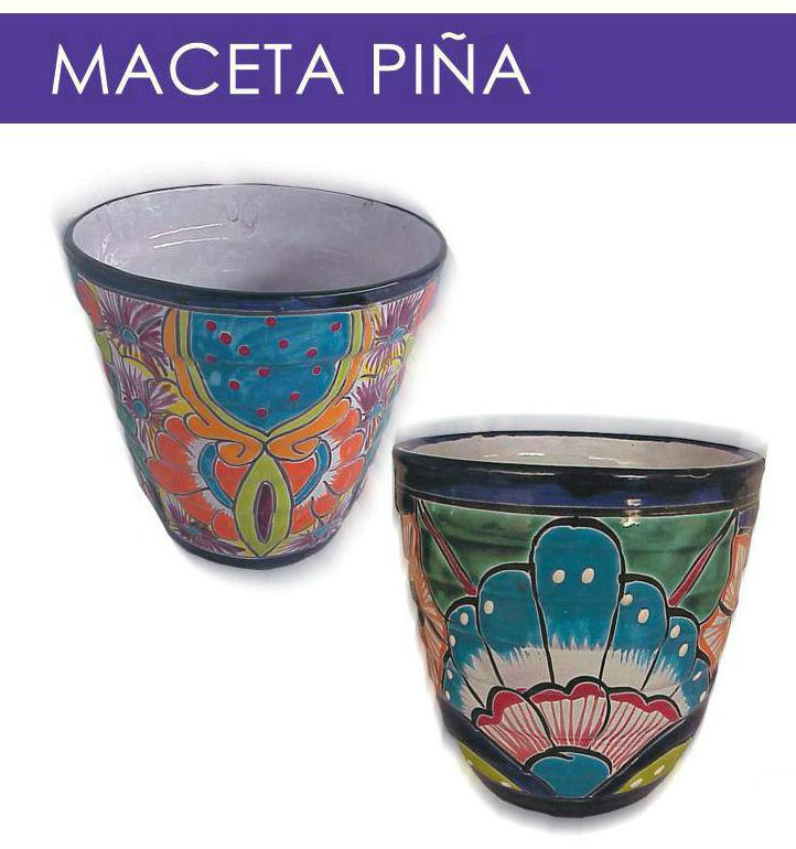 Alberto-Handmade mexicain Céramique TALAVERA Large 10.5 cm dalle éthiquement Sourced